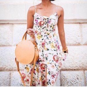 Yumi Kim Silk Julia Floral Pretty Woman Midi Dress
